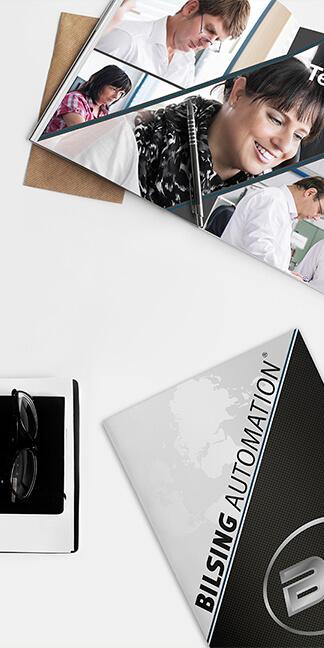Informationsdesign-Bilsing-Automation erstellt von der Agentur David Bock Marketing und Design - Südwestfalen | NRW