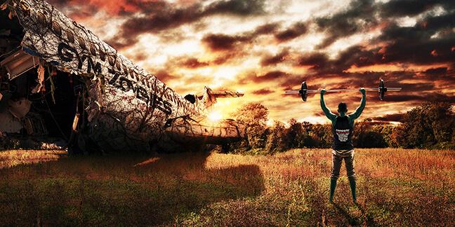 Ein Fotobeispiel von der Marketing und Design - Agentur David Bock aus Attendorn für die GymZombies - Fotografie-Düsseldorf