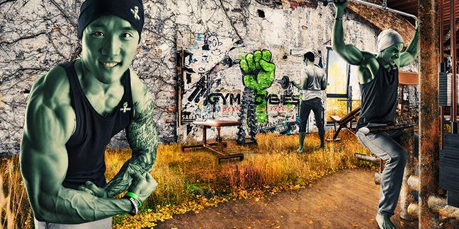 Fotografie-Gym-Zombies - Produktion von Visuals, Fotografie, Printprodukten und Animationen von der Agentur David Bock aus Attendorn