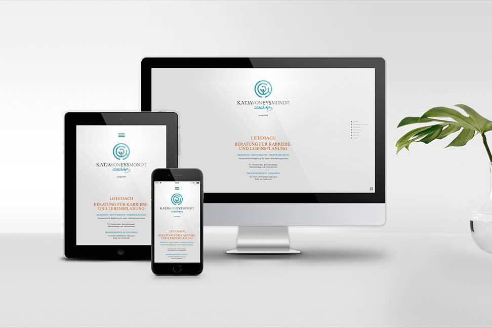 Internetseite-Langenfeld | Katja von Eysmondt - umgesetzt von der Agentur David Bock Marketing und Design aus NRW in Attendorn