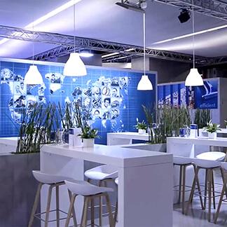 Animation-IAA für die Visualisierung auf der Messe IAA in Frtankfurt der Firma Mubea von der Agentur David Bock Marketing und Design