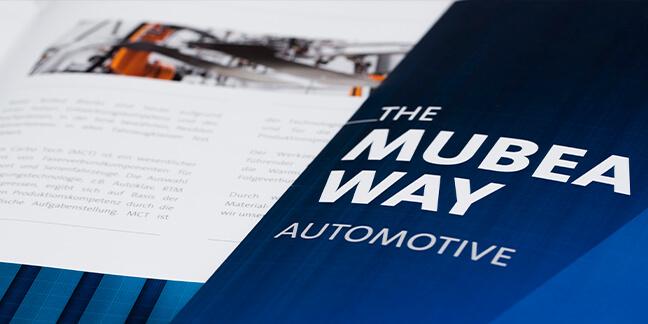 Printdesign-IAA für die Messe IAA in Frankfurtfür die Firma Mubea von David Bock Marketing und Design, Attendorn