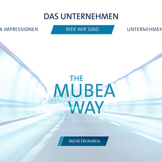 Design-IAA für die Firma Mubea - Umsetzung und Kreation von der Agentur David Bock Marketing und Design - Südwestfalen