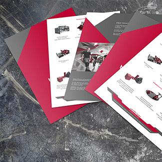 Passendes Design für Ihr Unternehmen - Beispiel aus dem Bereich Printdesign-MEMATEK der Agentur David Bock Marketing und Design