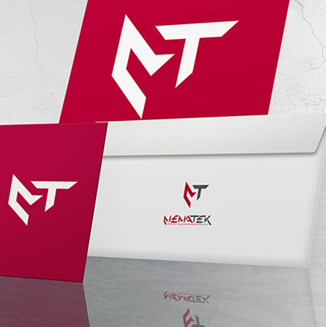 Passendes Design für Ihr Unternehmen - Werbeagentur David Bock Marketing und Design Beispiel aus dem Bereich Print-MEMATEK