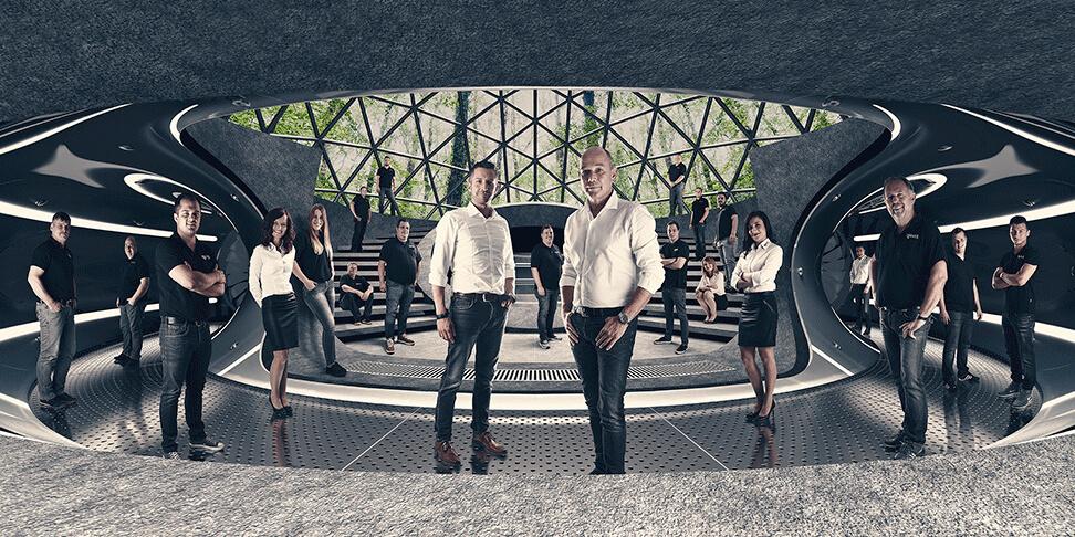 Foto-Mantel-Haustechnik - begleitet von der Marketing- und Design - Agentur David Bock Marketing und Design aus Attendorn - Südwestfalen