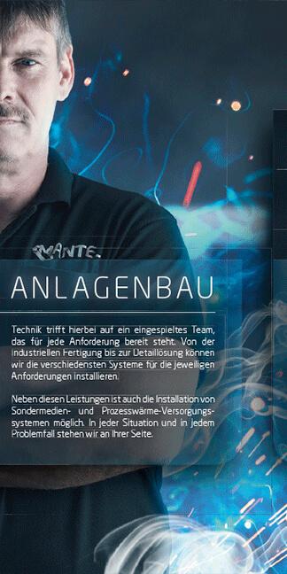Design-Mantel-Haustechnik - erstellt im Kundenauftrag von der Werbeagentur David Bock Marketing und Design aus Attendorn - Südwestfalen
