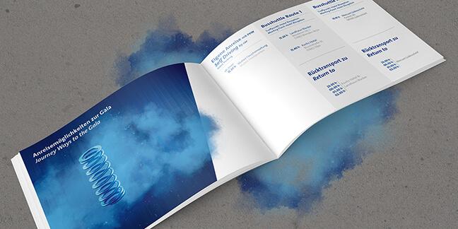 produziert von der Designagentur David Bock Marketing und Design, ein Projektbeispiel für Printdesign Attendorn - 100 Jahre Mubea