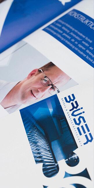 Print von DBMUD entwickelt für die Firma Paul Brüser GmbH von David Bock Marketing und Design - Agentur-Südwestfalen - Nordrhein-Westfalen