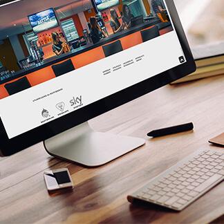 Webdesign-Finnentrop für die Players Lounge - David Marketing & Design, Ihre Agentur für anspruchsvolle und moderne Umsetzungen im Web