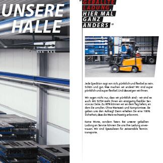 Informationsbroschüre-SLT24 speziell erstellt von der Agentur David Bock Marketing & Design aus Südwestfalen - Nordrheinwestfalen