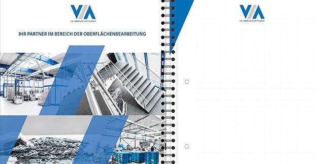 Werbeagentur-Olpe David Bock Marketing und Design, ein Projektbeispiel für unseren Kunden der VIA - Nordrhein-Westfalen