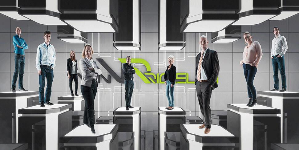 Teambild-VR (van Rickelen GmbH & Co. KG) von der Agentur David Bock Marketing und Design aus Attendorn - Südwestfalen