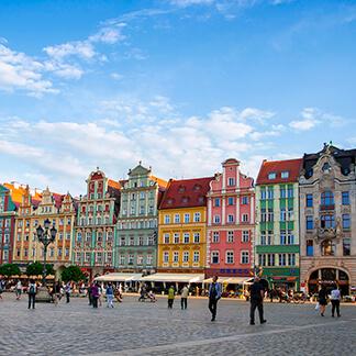 2 Tage Polen stand für ein Kundenprojekt auf dem Programm - Eindrücke von der Stadt Wroclaw oder Breslau konnten unsere Fotografen auch noch einfangen - Agentur David Bock Marketing & Design