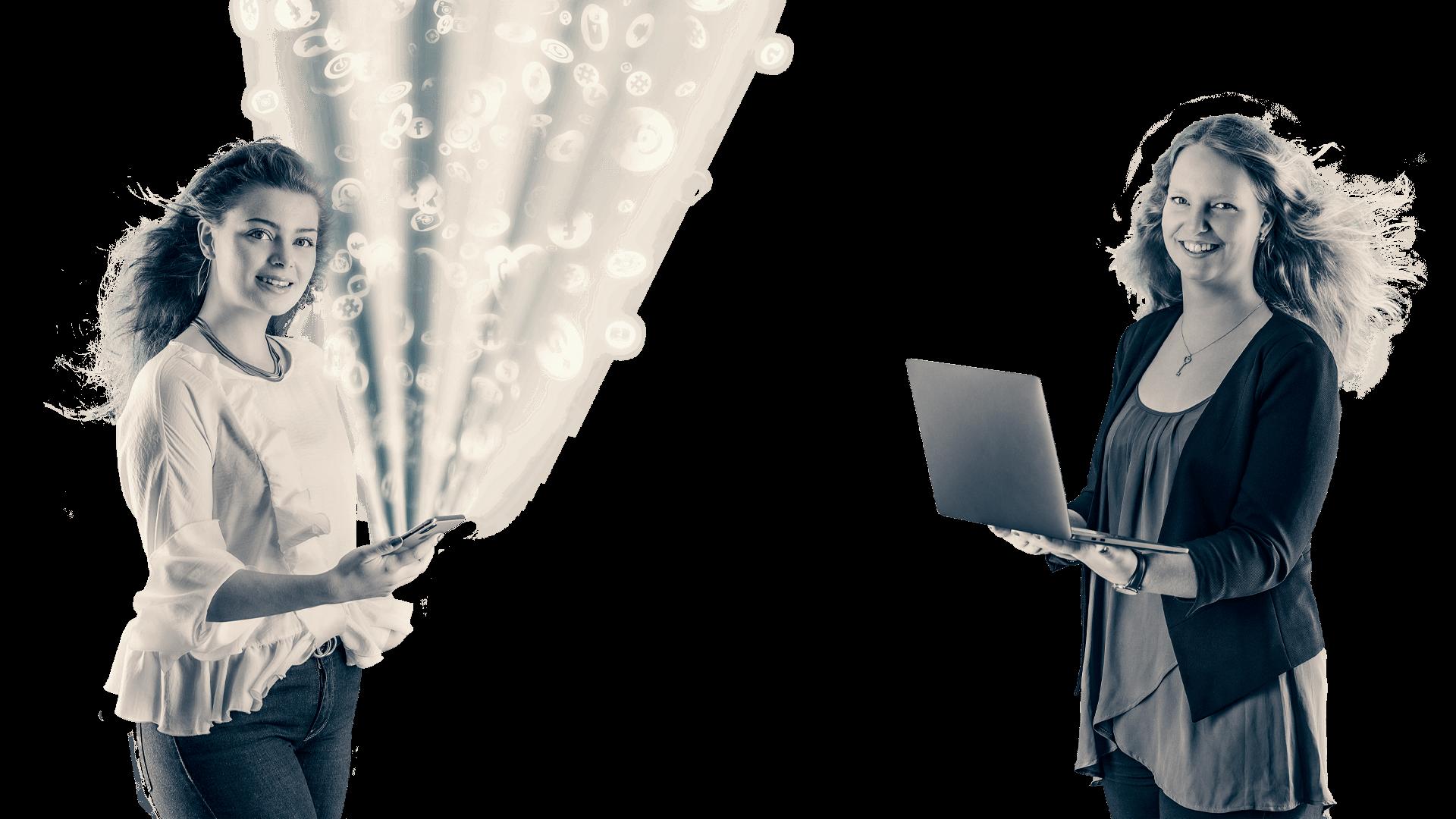 Professionelle Umsetzungen im Bereich SocialMedia sind wertvolle Ergänzungen im Marketing-Mix von Unternehmen - Agentur David Bock